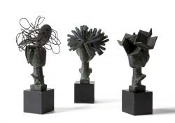 Manolo Valdés - Diálogo de Damas (Soñadora, Coqueta y Realista) 3 esculturas
