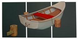 Pedro León Carrillo - Elegante Espera (Serie Barcas 3D)