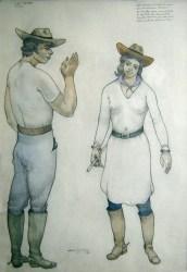 Pedro León Castro - El Rodeo (pieza única)