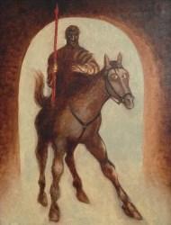 Pedro León Zapata - Guerrero con Lanza